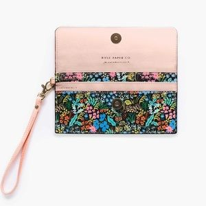 Rifle Paper Co. Floral Travel Wallet